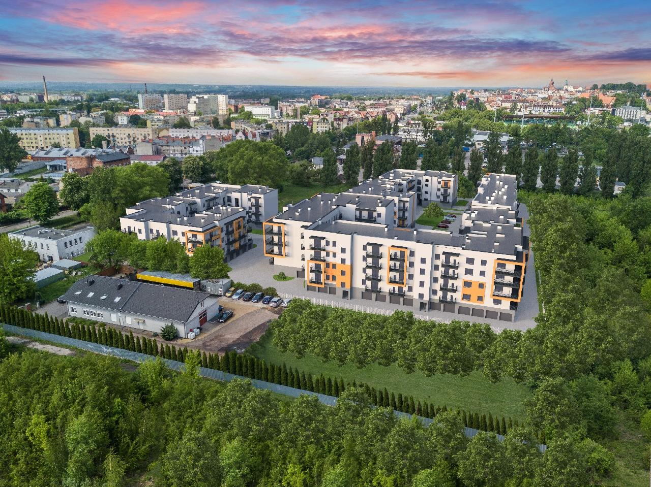Nowoczesne mieszkanie 49.01m2*Osiedle Staromiejskie*WINDA*Grudziądz