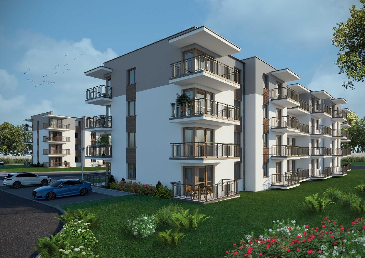 Mieszkanie 49,55m² parter * KLASA PREMIUM*