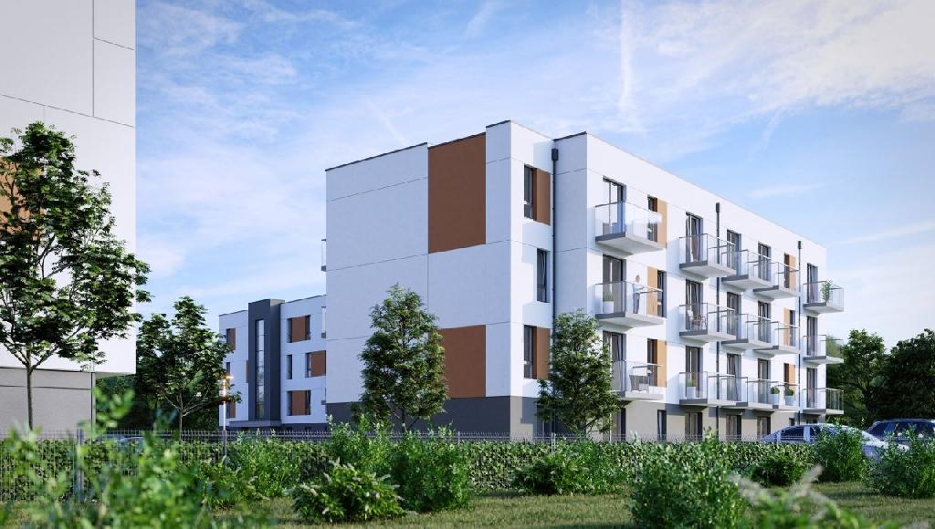NOWE Mieszkanie 38,24 m² na I piętrze/Centrum miasta/Kupujący nie płaci PCC