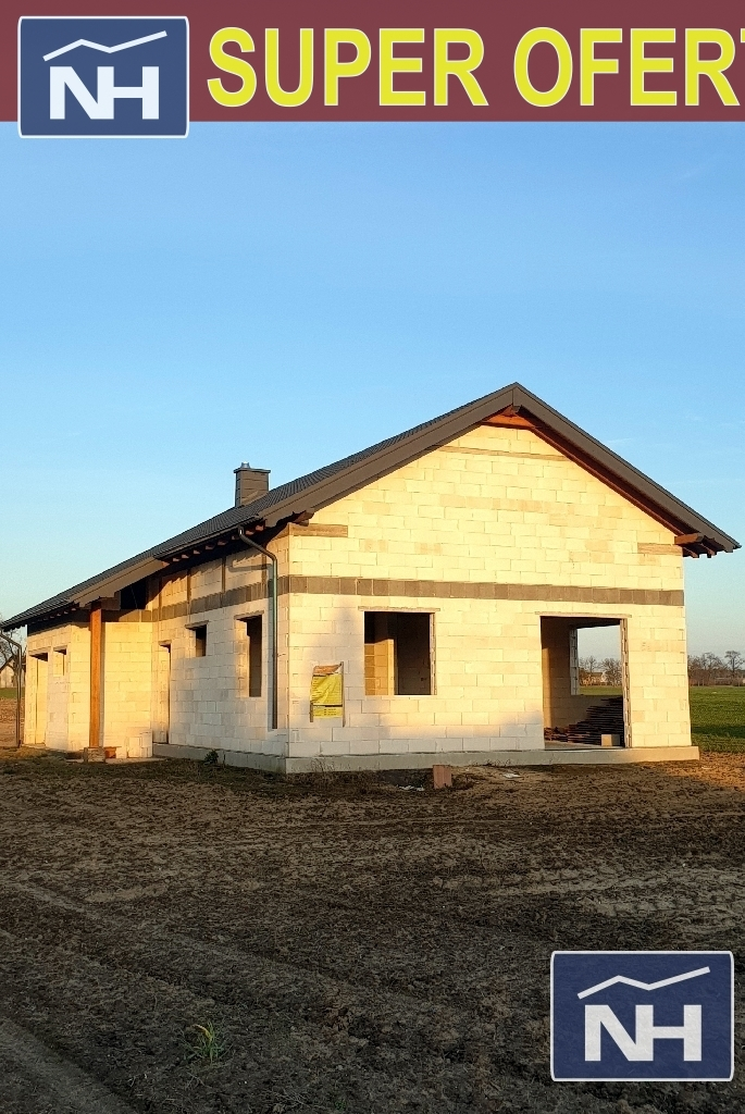 Dom w stanie surowym Ojrzanowo