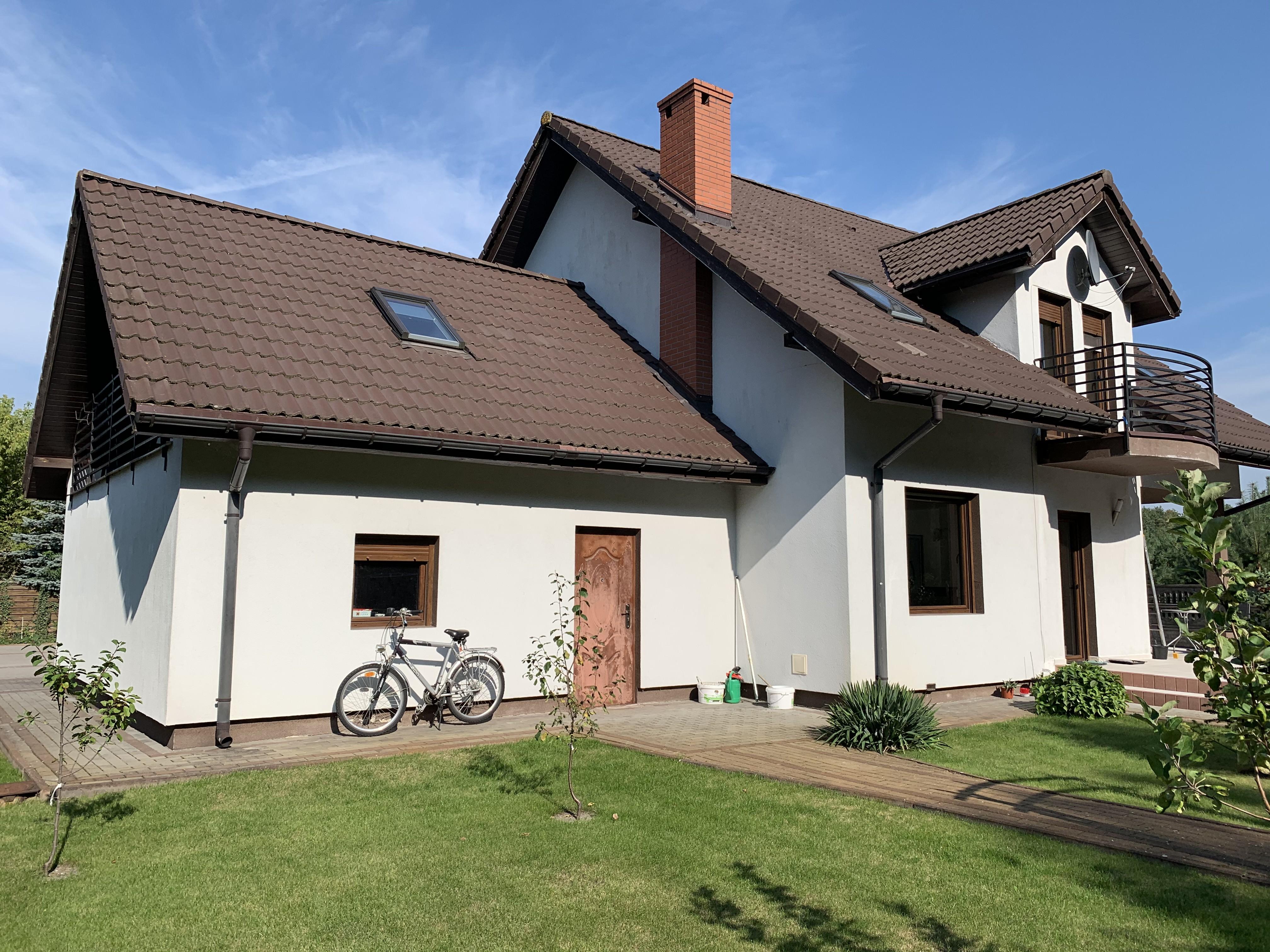 Dom w Zielonce o wysokim standardzie