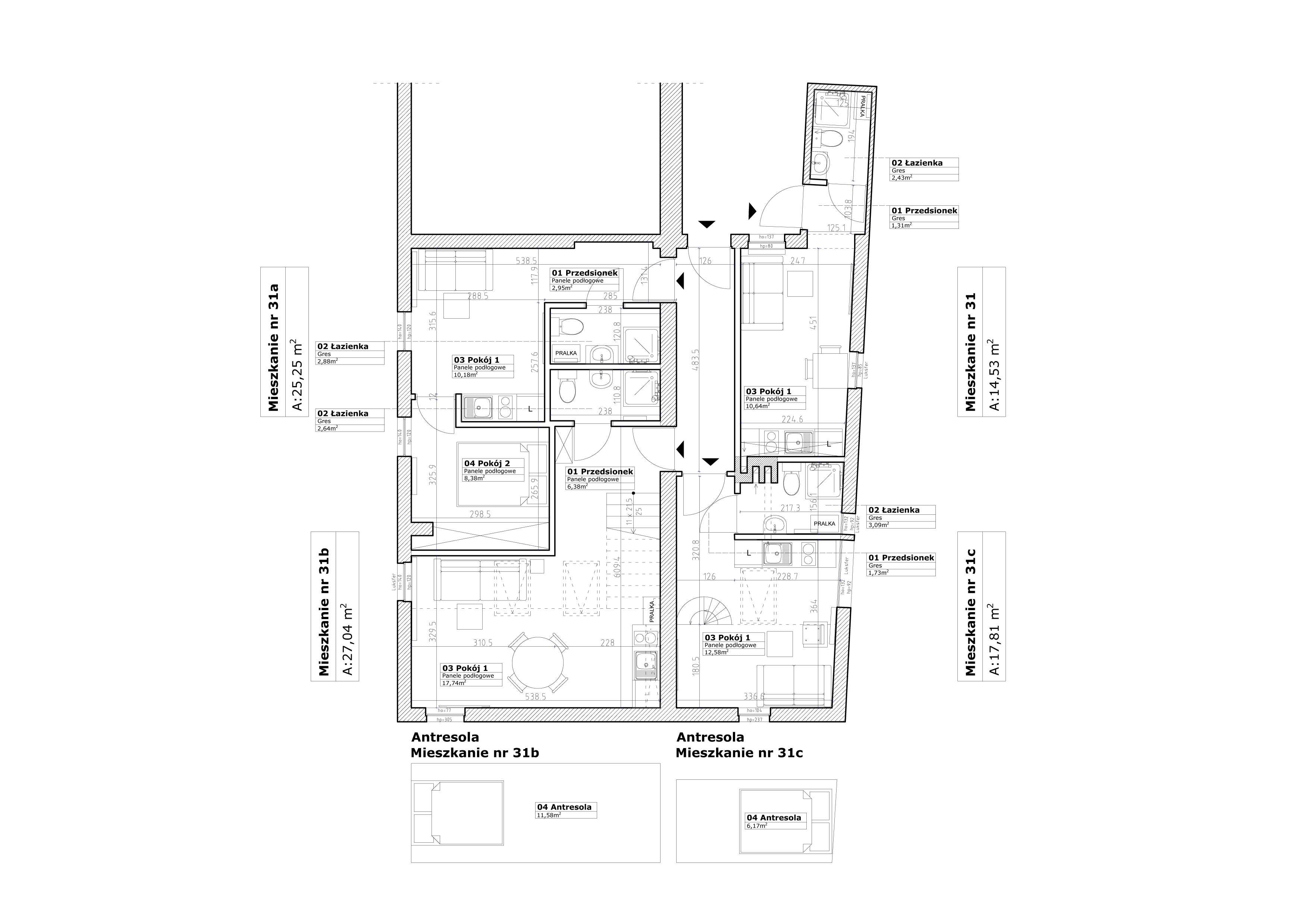 Mieszkanie inwestycyjne - dwie kawalerki