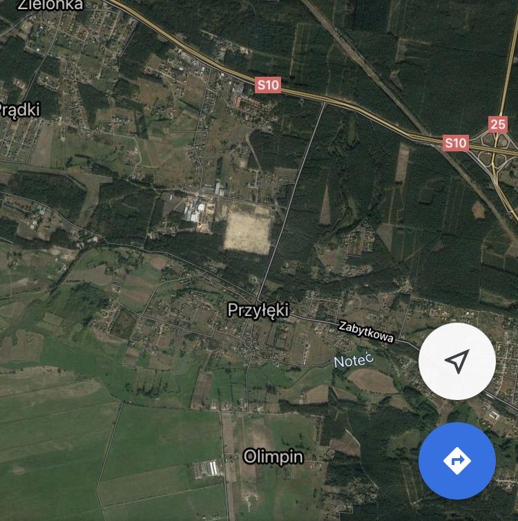 Działka budowlana 10km od Miasta