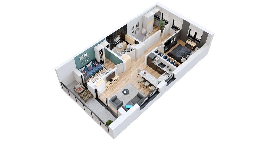 Mieszkanie Inowrocław - oferta 66356